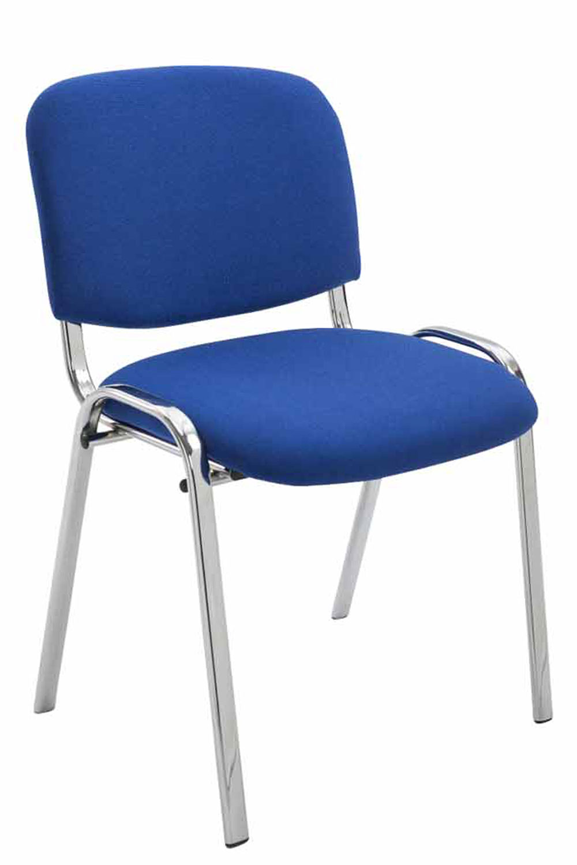 Chaise visiteur KEN support chromé tissu Chaises de