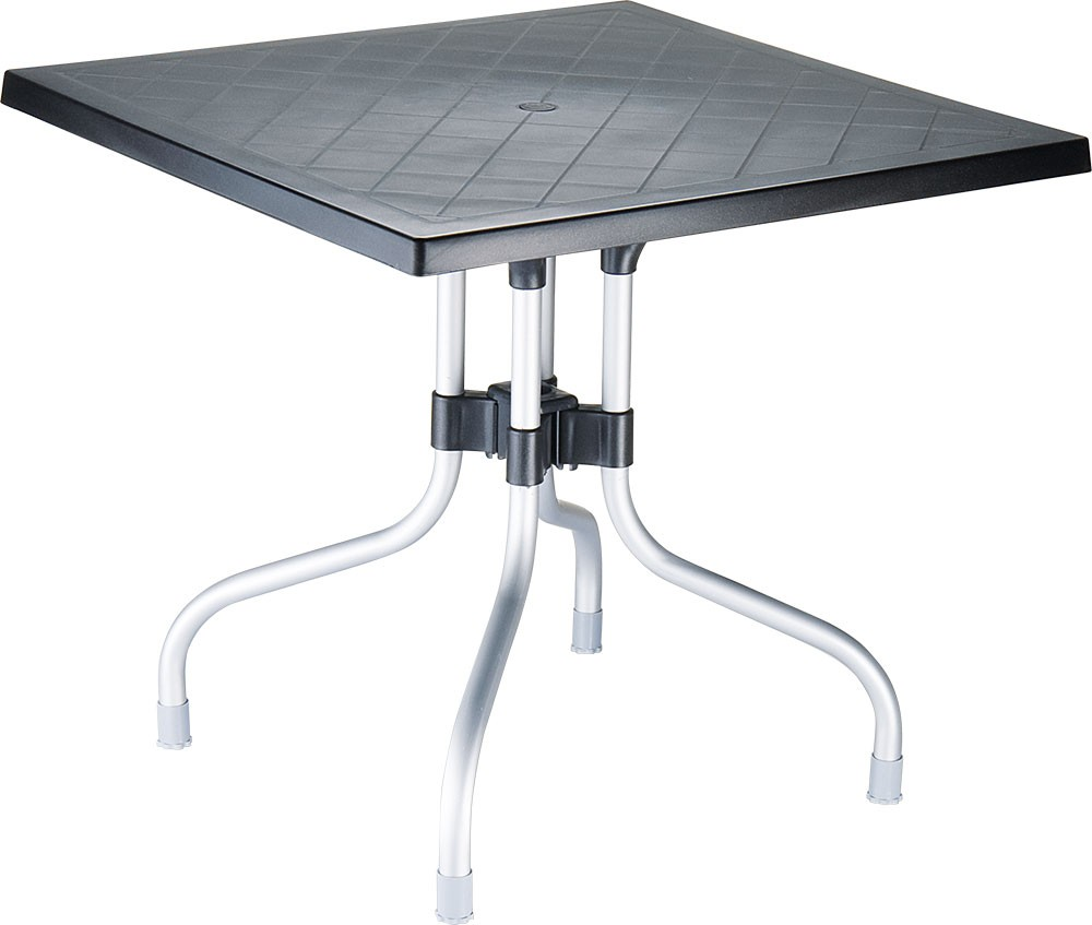 Table de jardin pliable Forza 80 x 80 cm