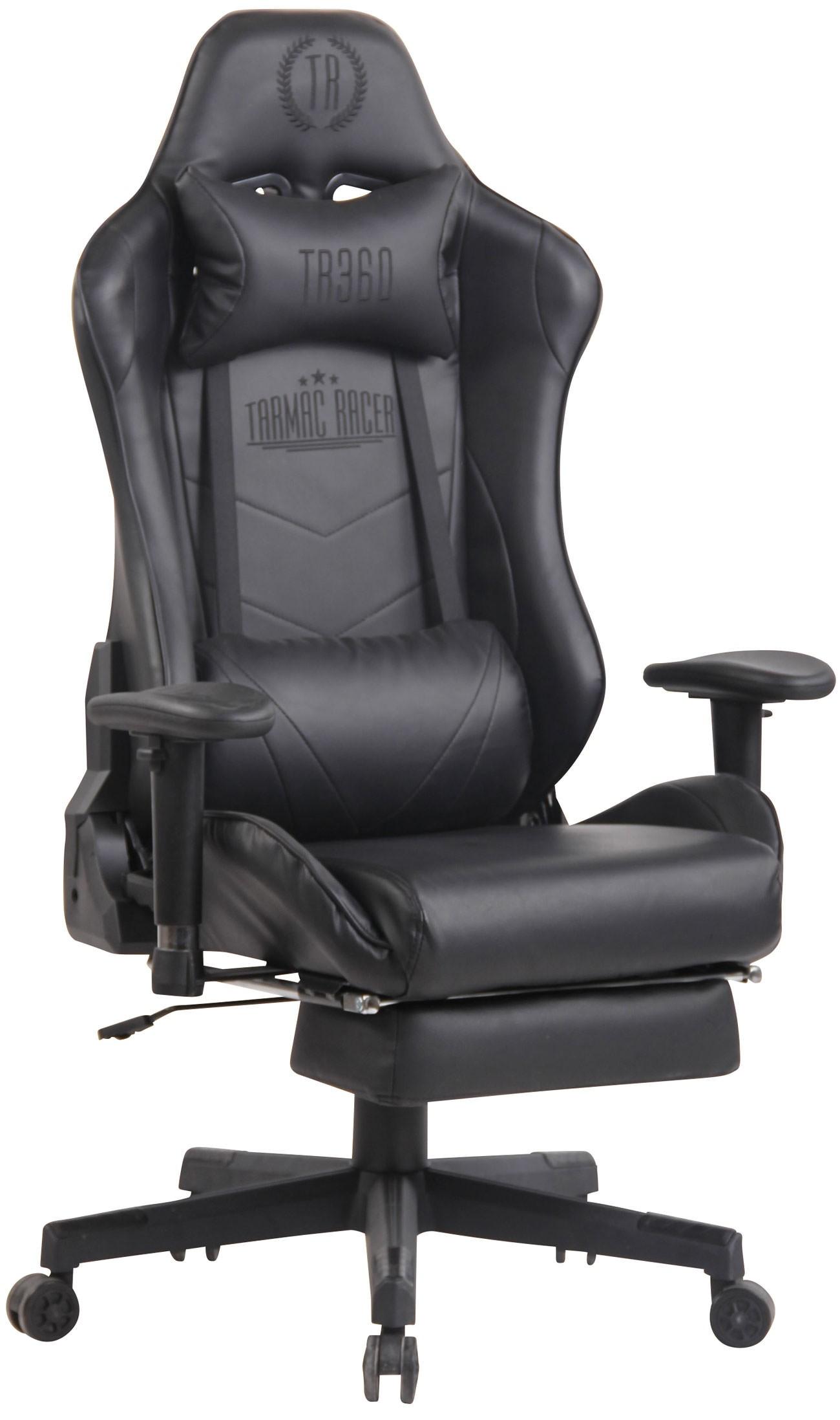Chaise de Bureau / Gaming Lux XFM avec repose pieds téléscopique