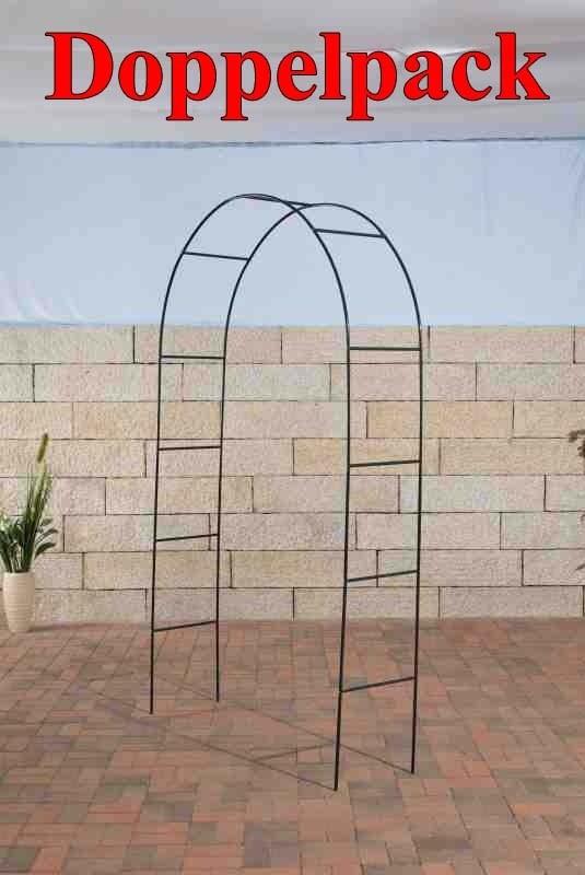 Lot de 2 arches de jardin Ladder