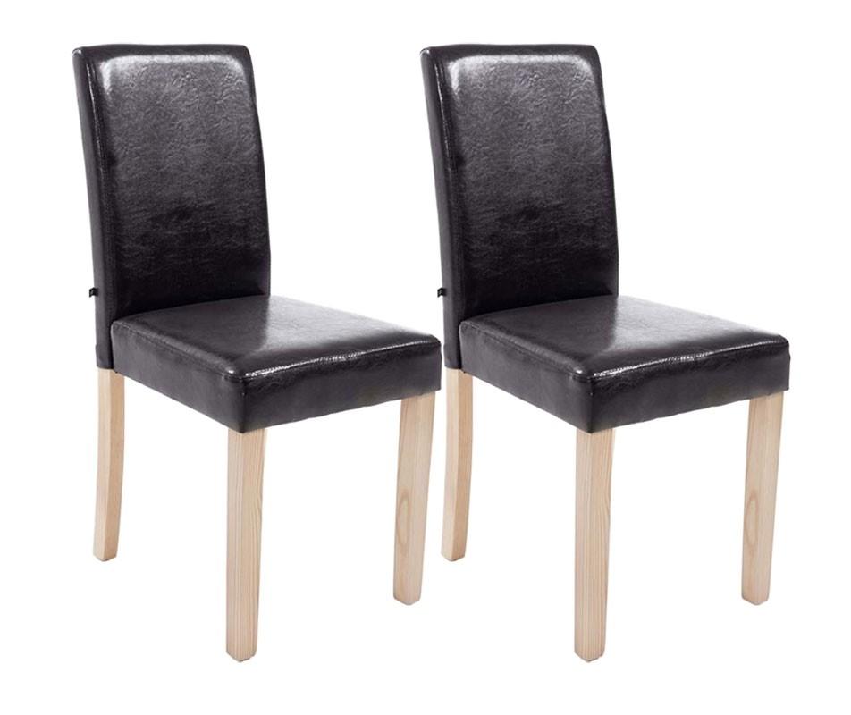 Lot de 2 chaises de salle à manger Ina Nature