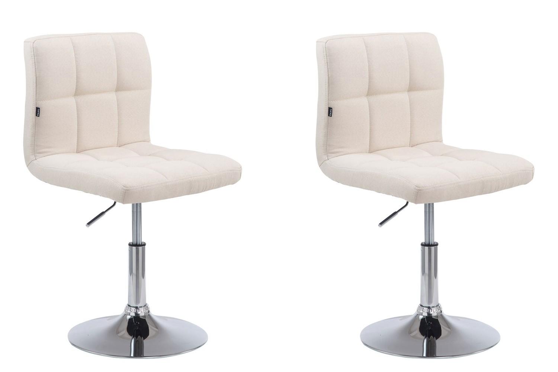 Lot de 2 chaises lounge Palma V2 en tissu