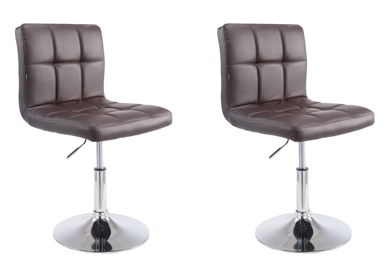 Lot de 2 chaises lounge Palma V2 en similicuir