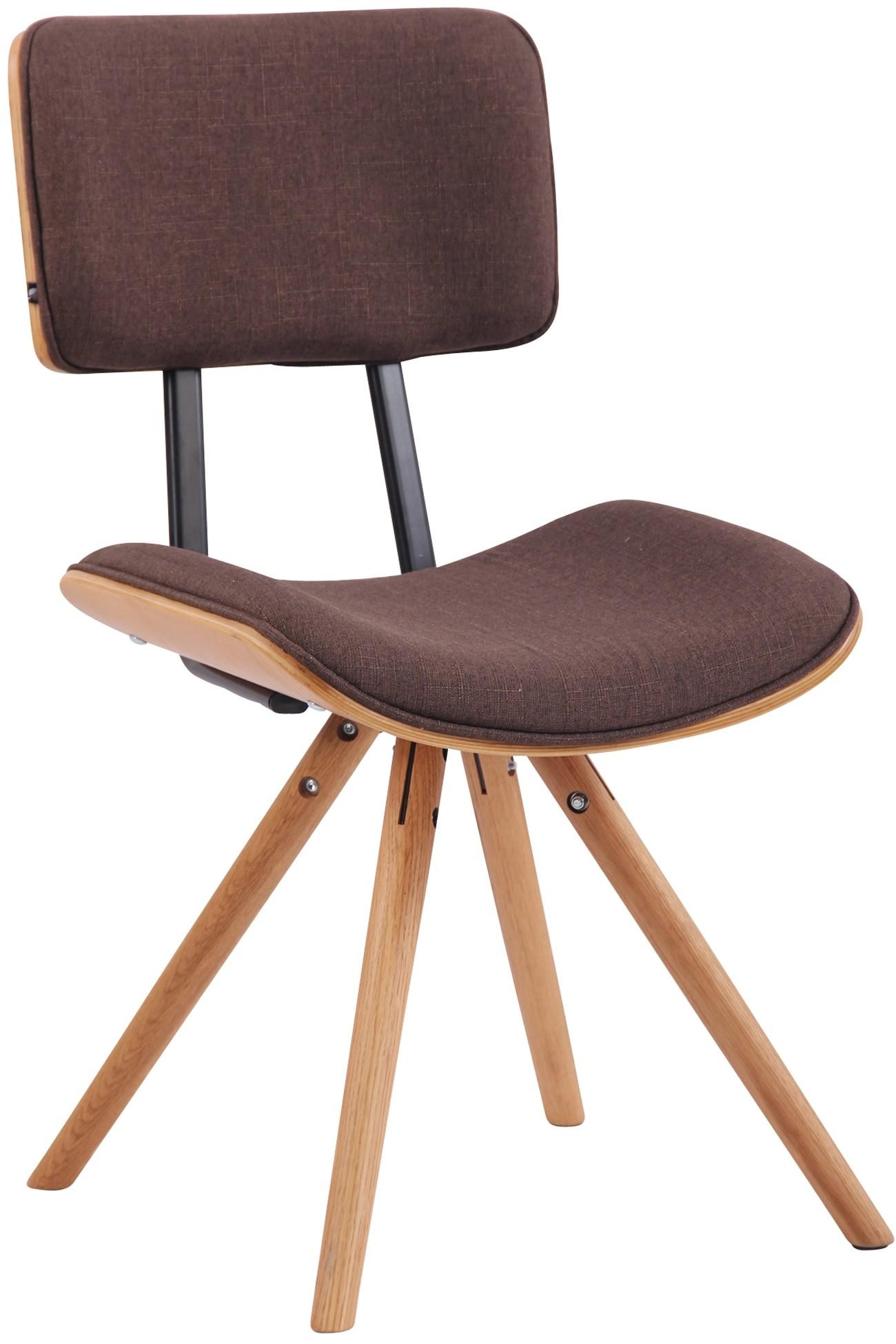 Chaise de salle à manger Delft en tissu