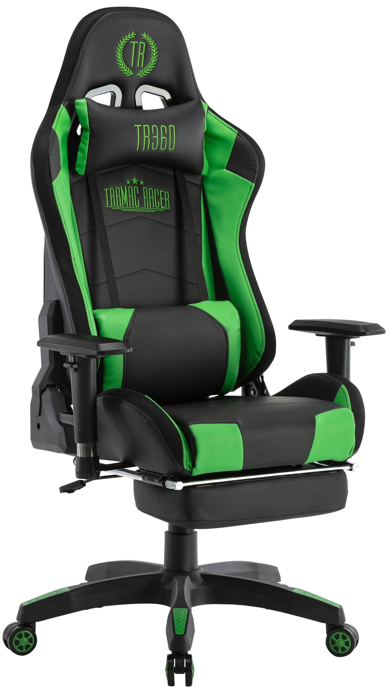 Chaise de bureau Gaming Turbo Led avec repose-pieds téléscopique