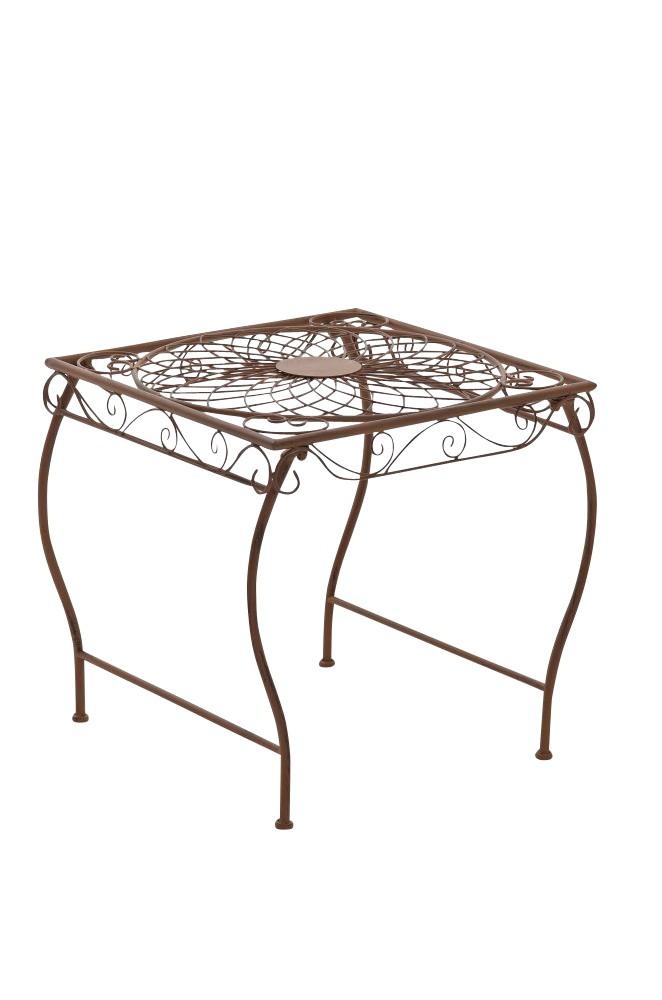 Table de jardin carrée Zarina 50 x 45 cm