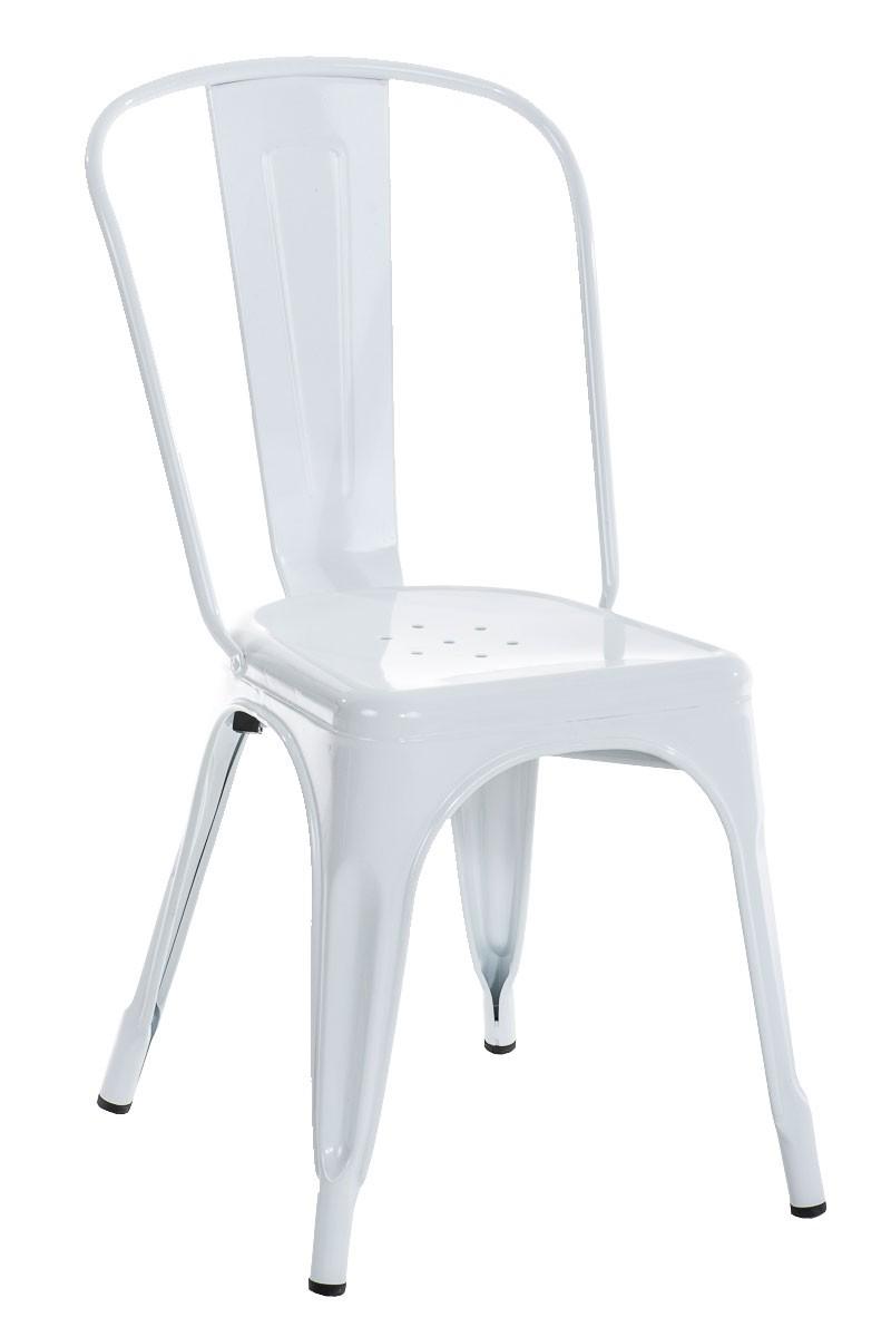 Chaise empilable en métal BENEDIKT