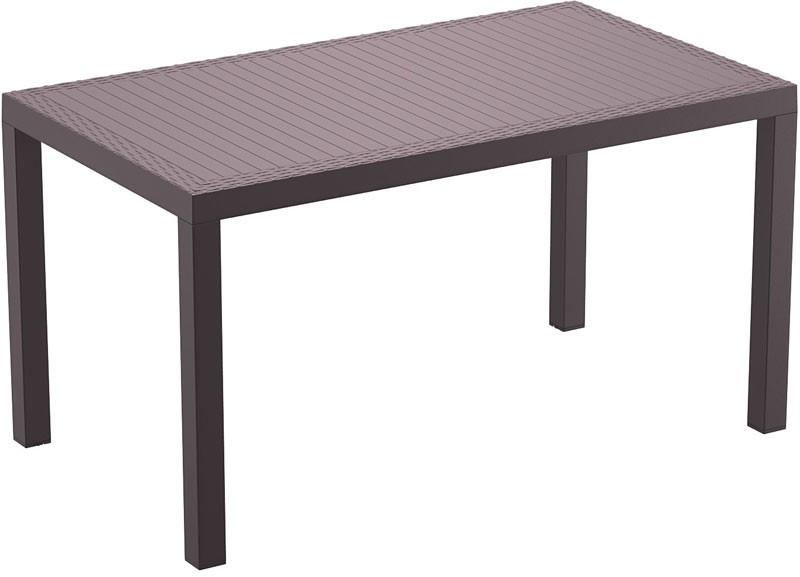 Table en plastique Orlando 140 x 80 cm