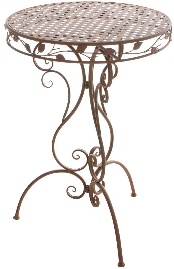 Table de café Aldora en métal