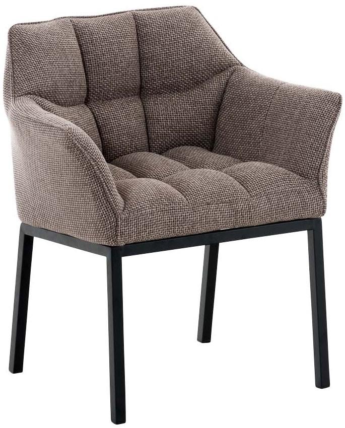 Chaise de salle à manger Octavia B tissu