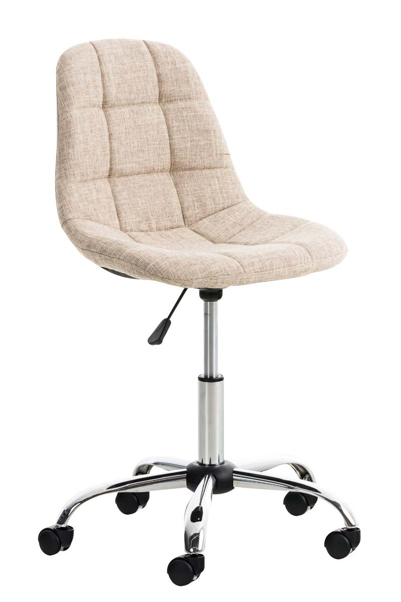 Chaise de bureau Emil tissu