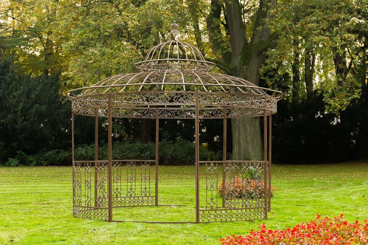 XXL Pavillon de luxe Romantik rond 500 cm