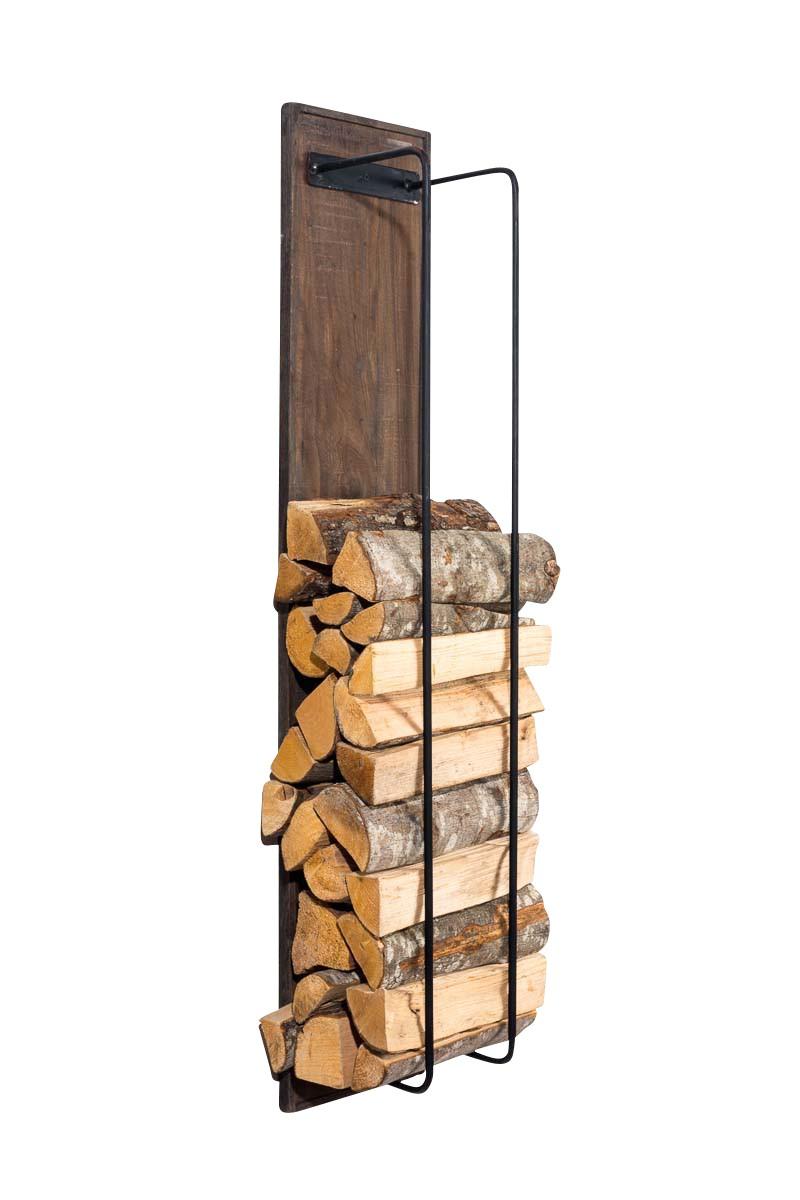 Porte-bûches pour bois de cheminée Houston