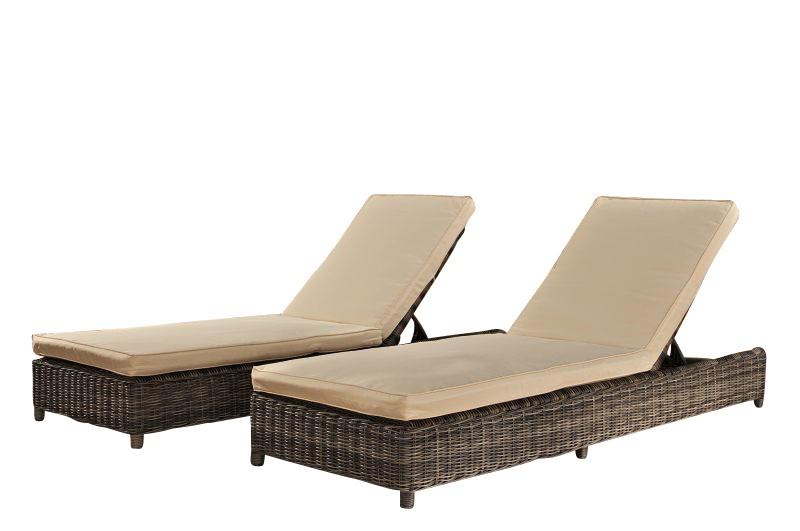 Set 2 x bains de soleil Burano
