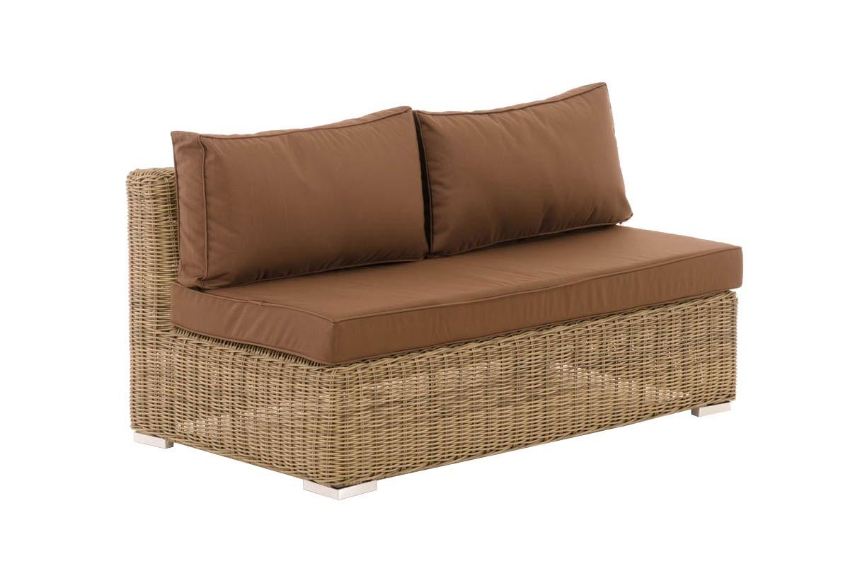 Canapé de 2 places élément de milieu Tessera