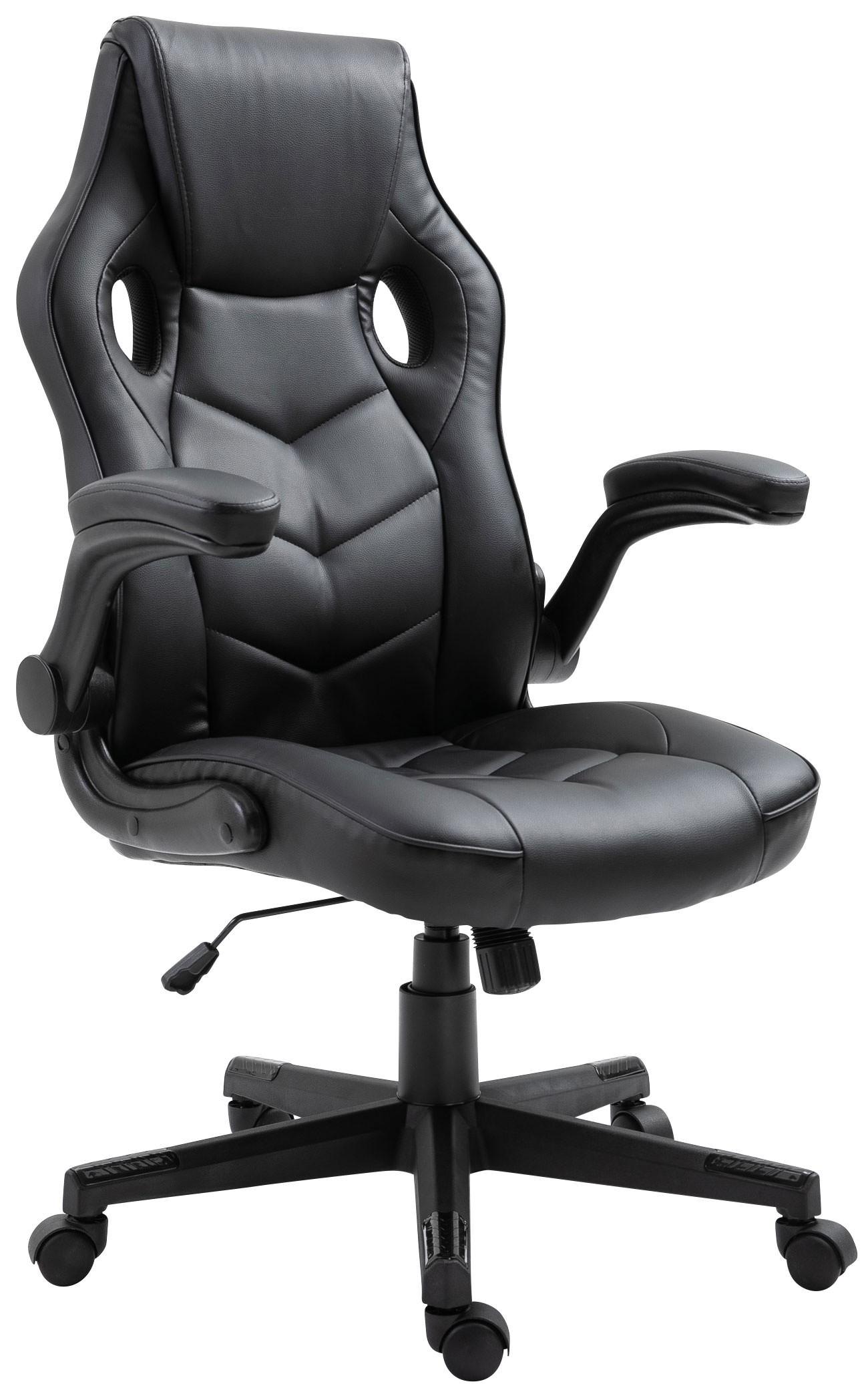 Chaise de bureau Omis en similicuir