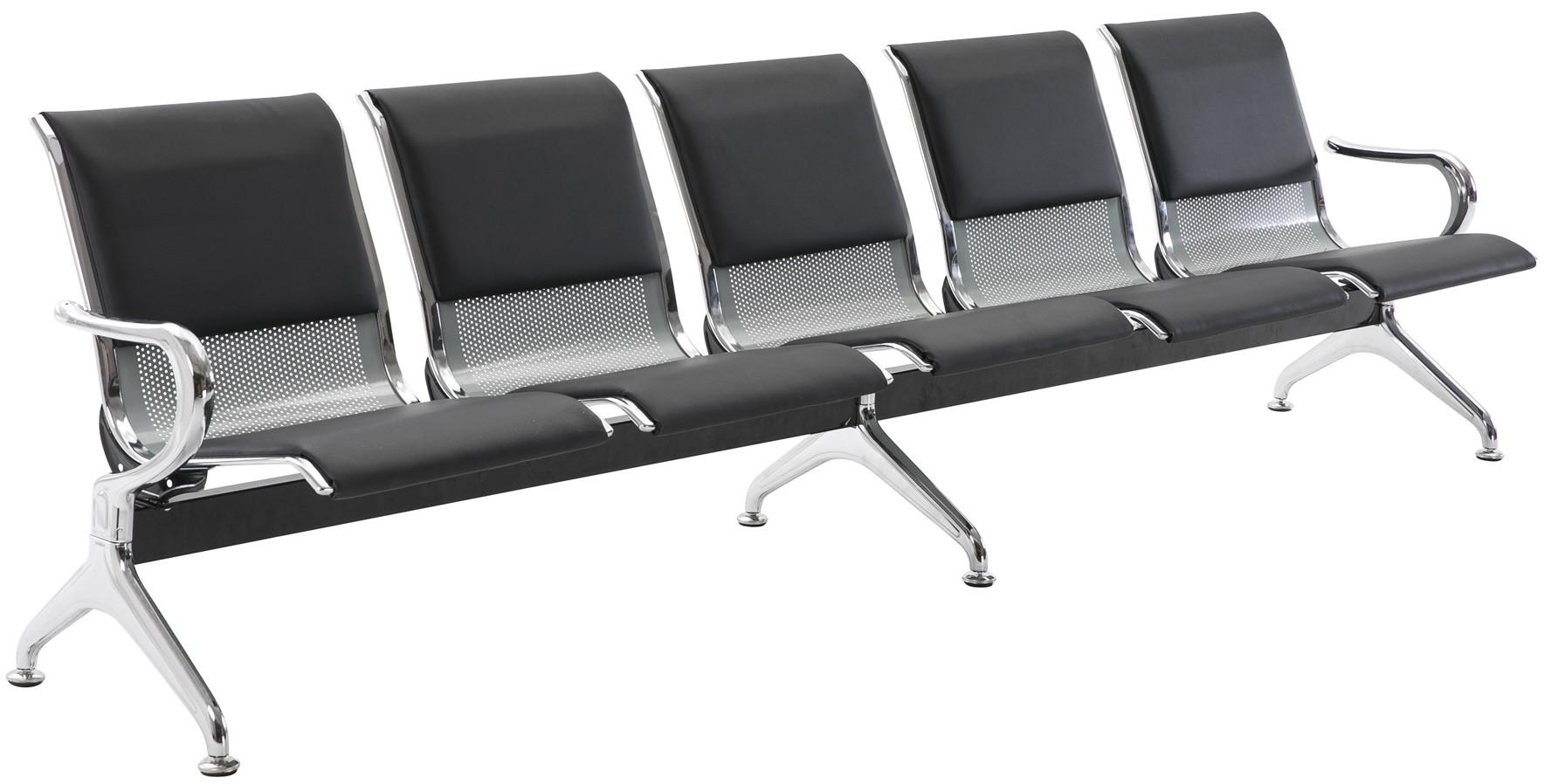 5er Wartebank Airport Kunstleder