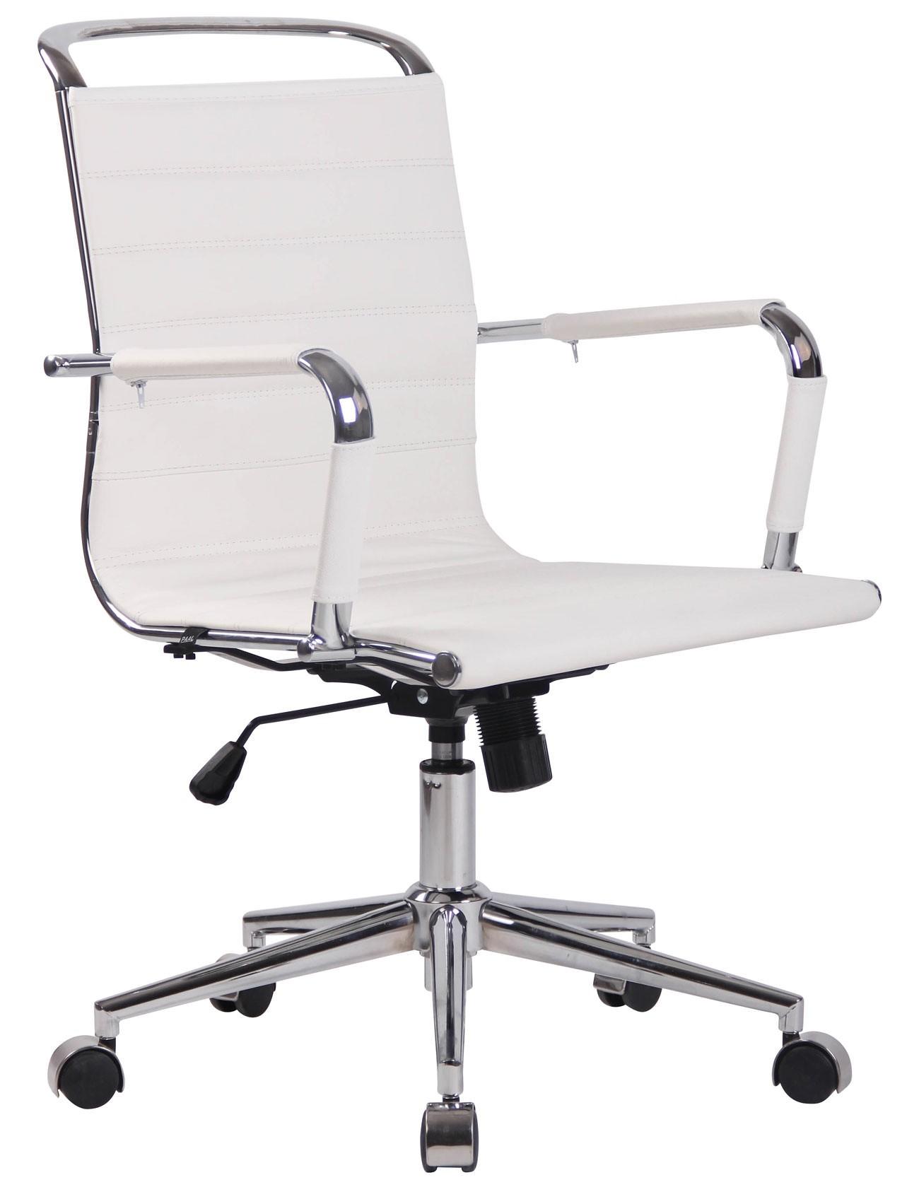 Chaise de bureau Barton en similicuir ou cuir véritable
