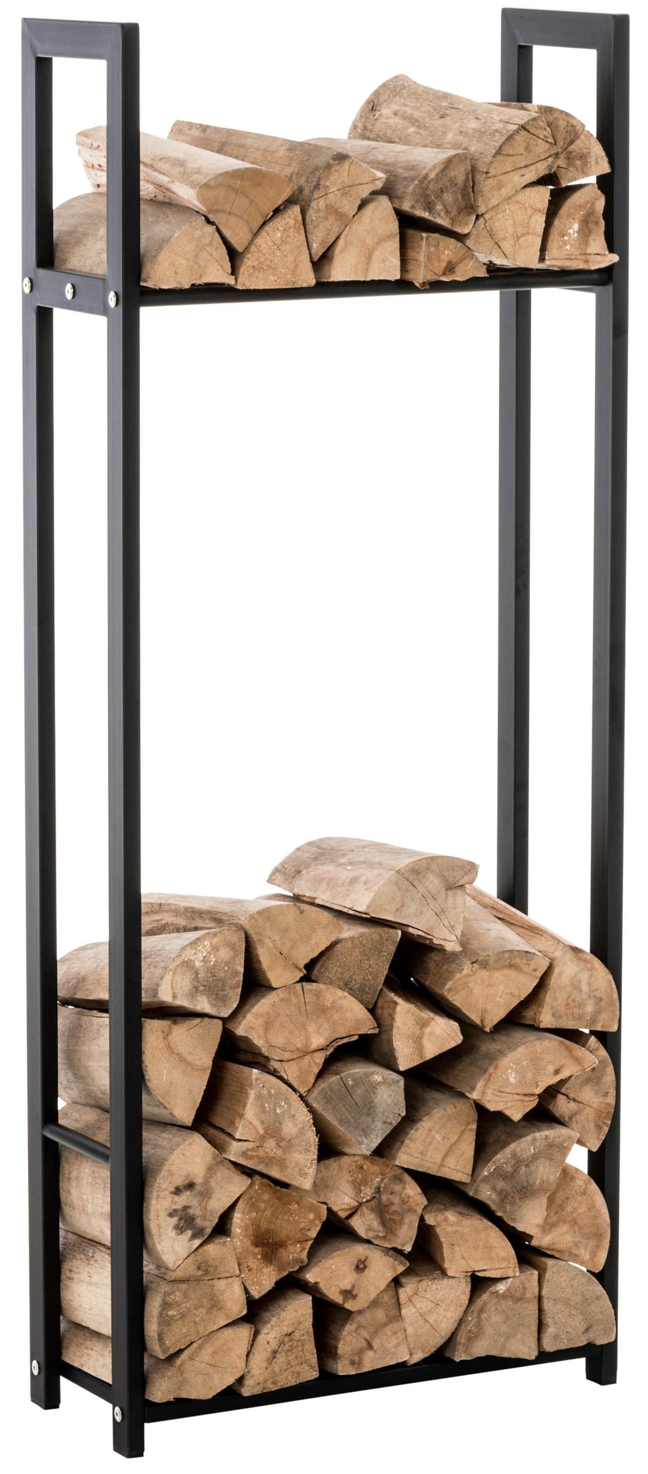 Porte bûches pour bois de cheminée Snow