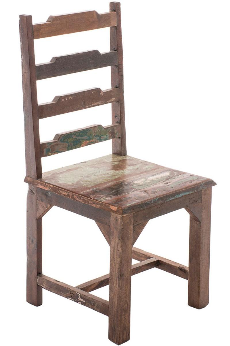Chaise en bois de teck Amba