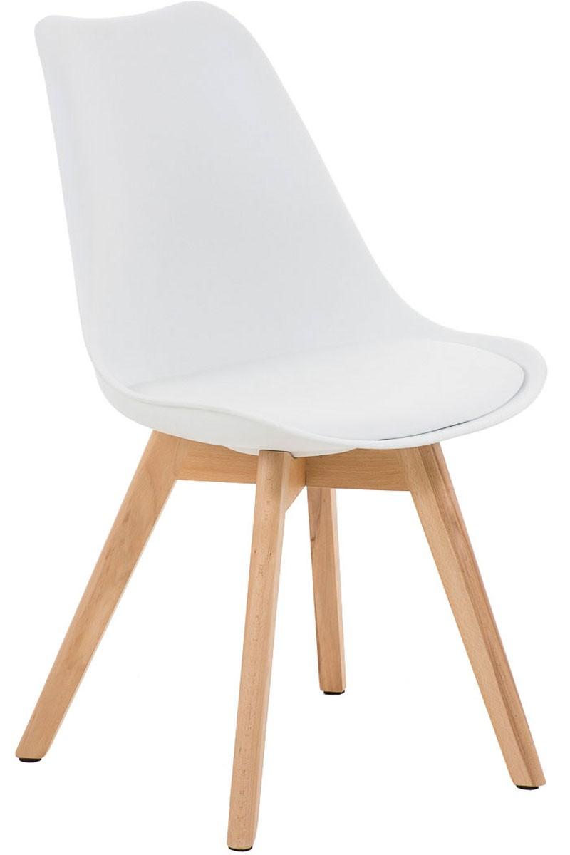 Chaise de visiteur Borneo similicuir