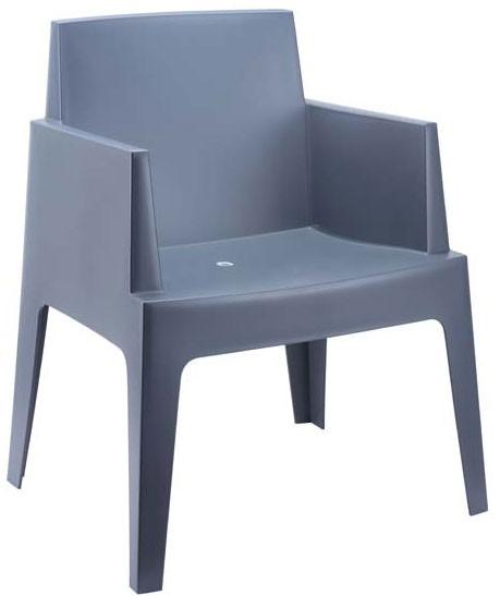 Chaise de jardin BOX en plastique