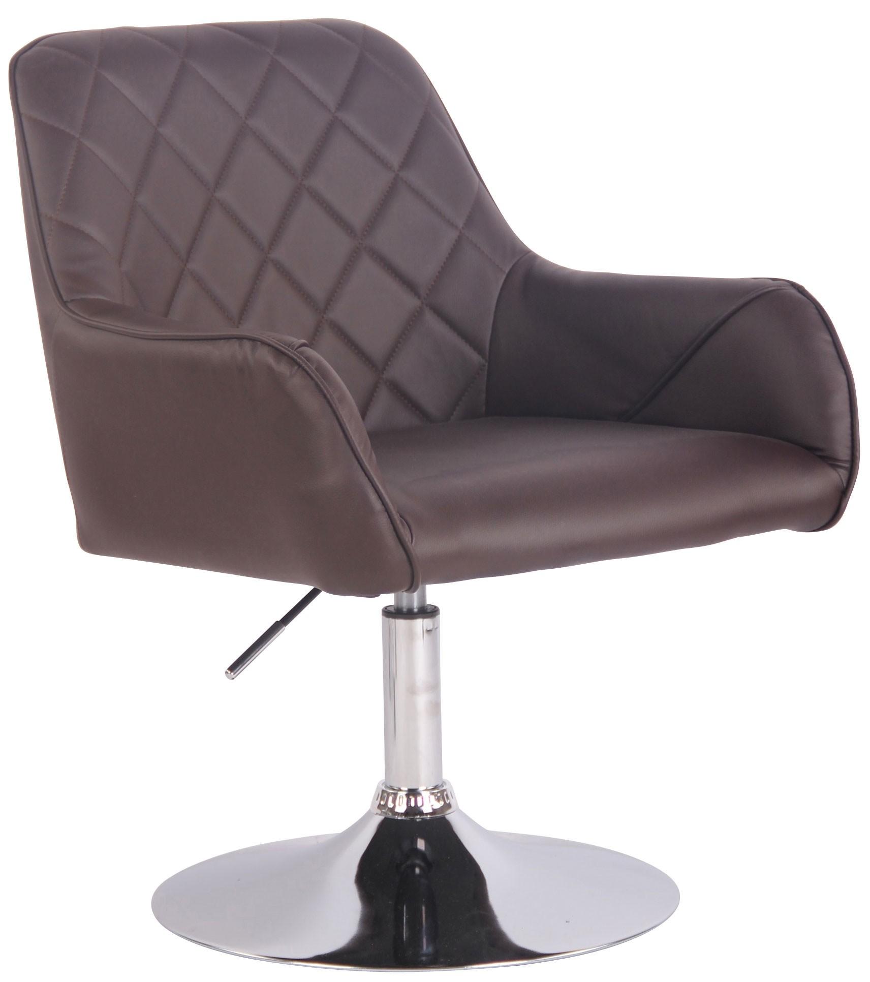 Chaise de salon Wellington en Similicuir