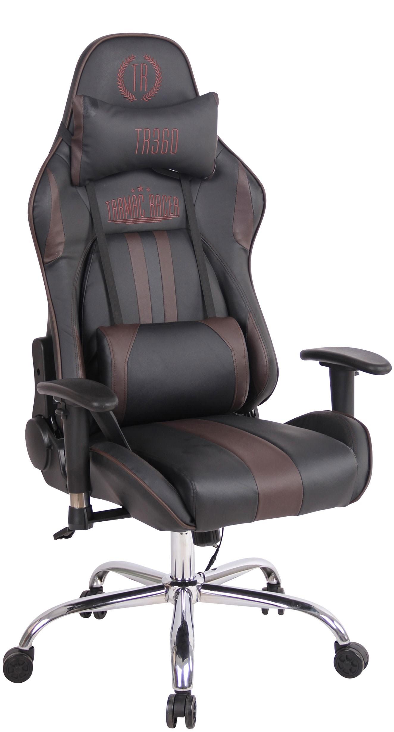 Chaise de bureau Limit XM en similicuir