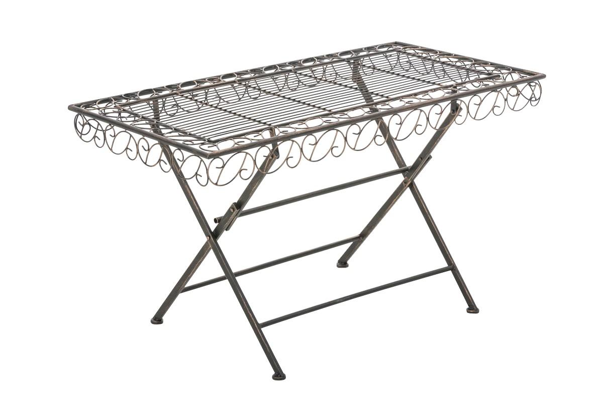 Table de jardin Josefa en métal
