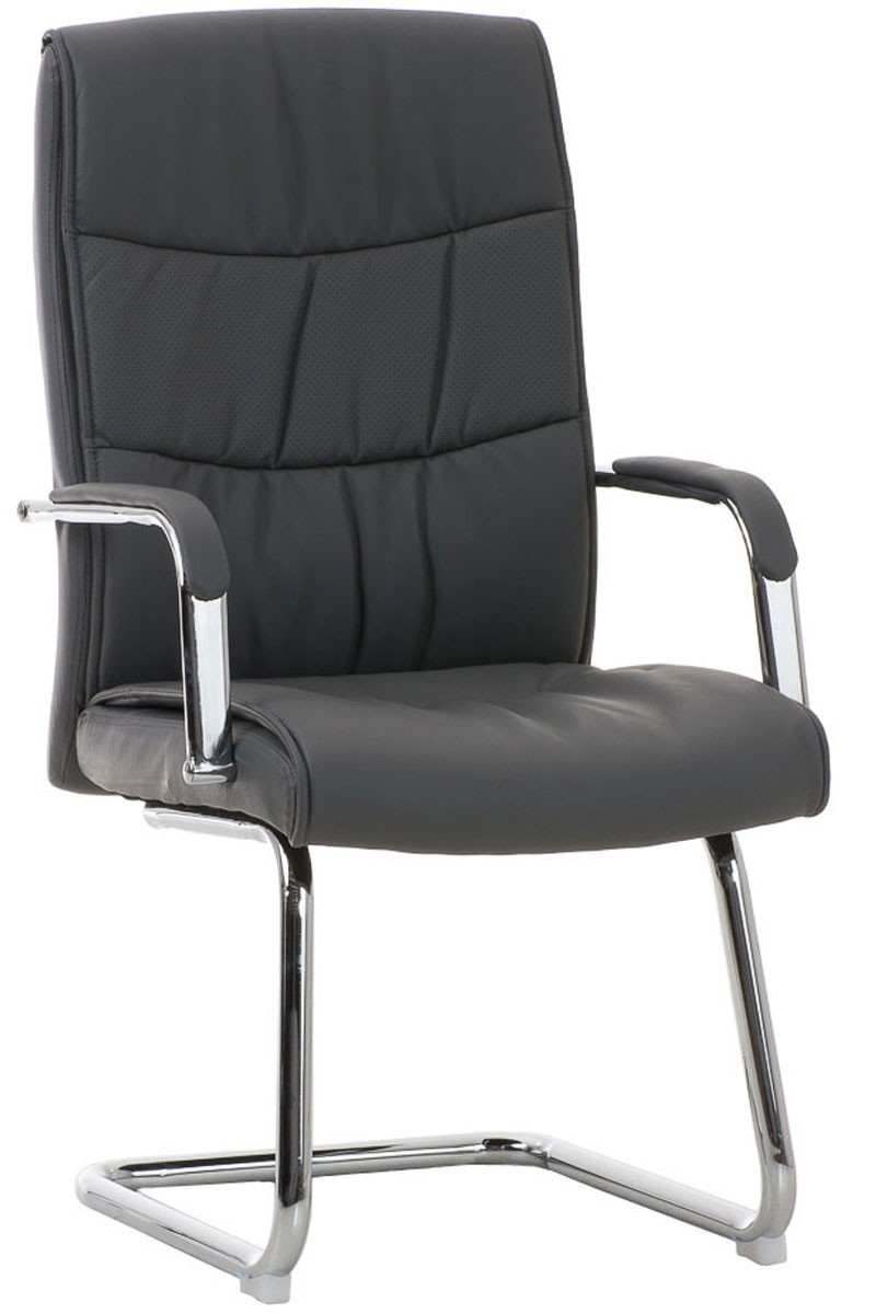 Chaise visiteur Caro similicuir