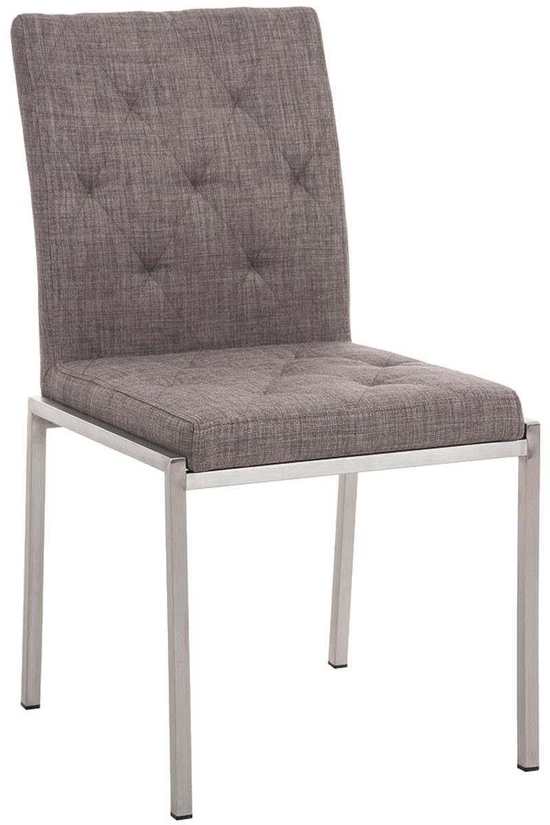 Chaise visiteur Charly tissu