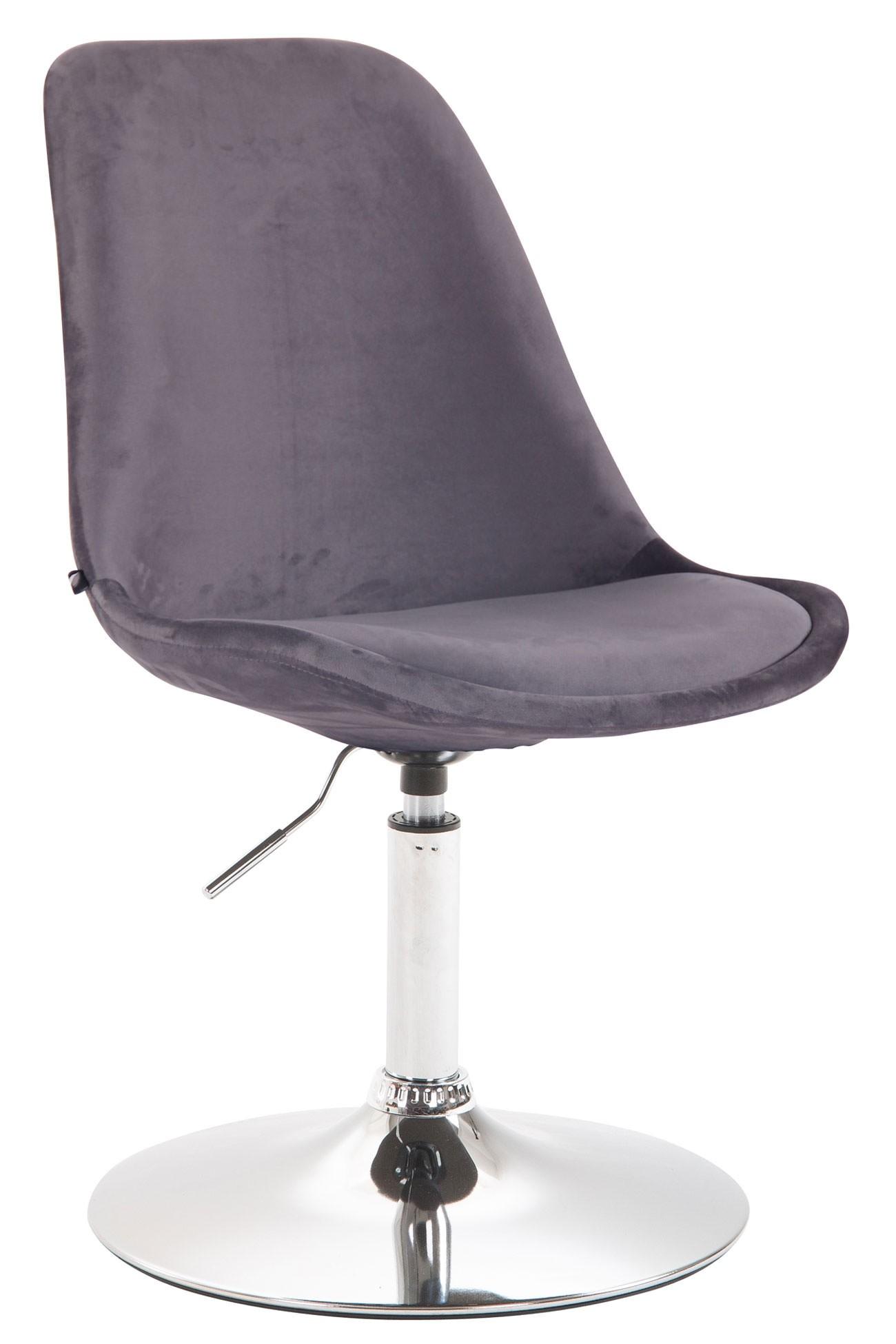 Chaise de salle à manger Maverick en velours