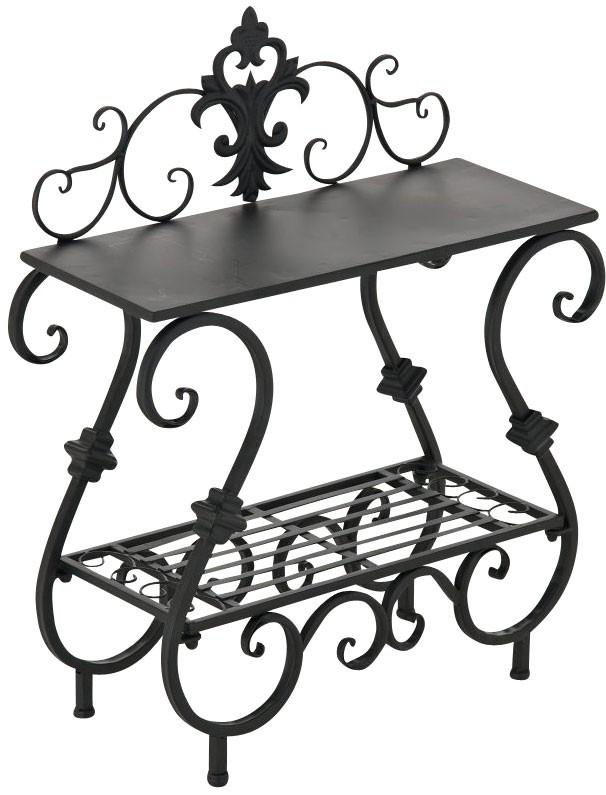 Table à fleurs en fer AURICA