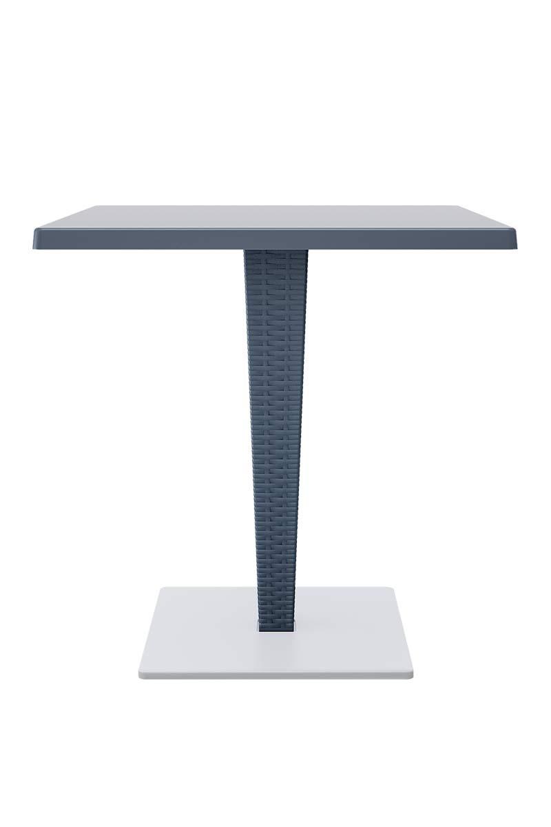 Table d'extérieur Riva carrée 70 x 70 cm
