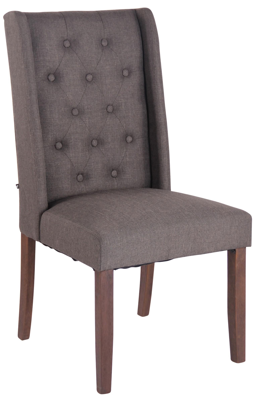 Chaise de salle à manger Malea en tissu