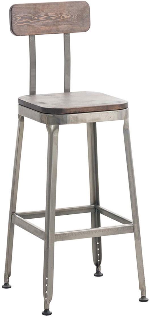 Tabouret de bar Easton bois