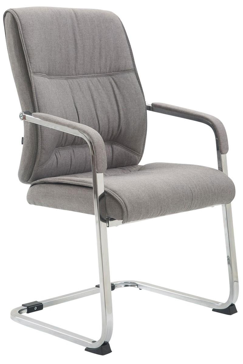 Chaise visiteur XXL Anubis tissu