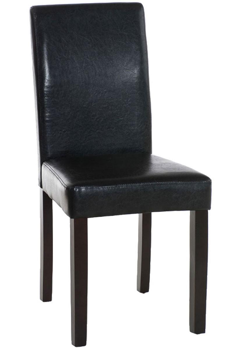 Chaise de salle à manger Ina marron foncé