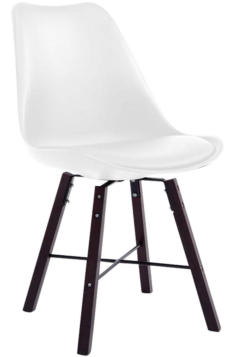 Chaise de visiteur Laffont similicuir cappuccino