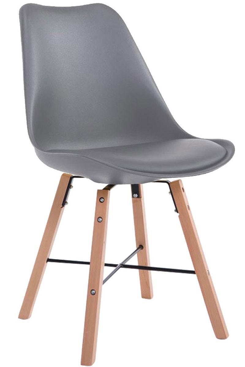Chaise visiteur Laffont similicuir nature