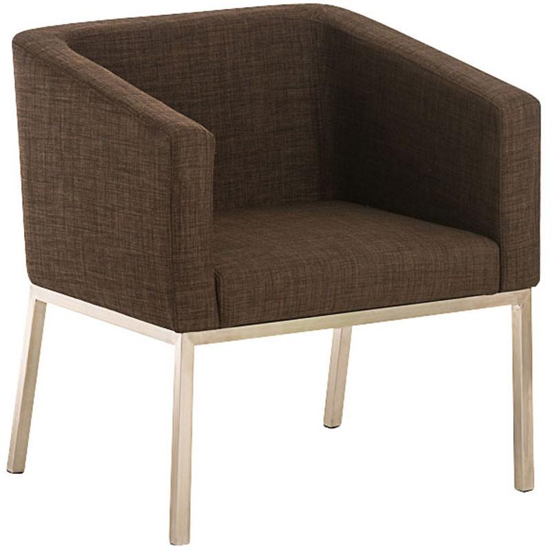 Fauteuil Salon Lounge NALA Tissu