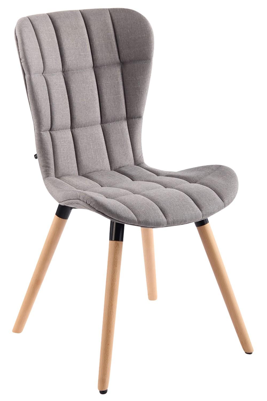 Chaise de salle à manger Elda V2 tissu
