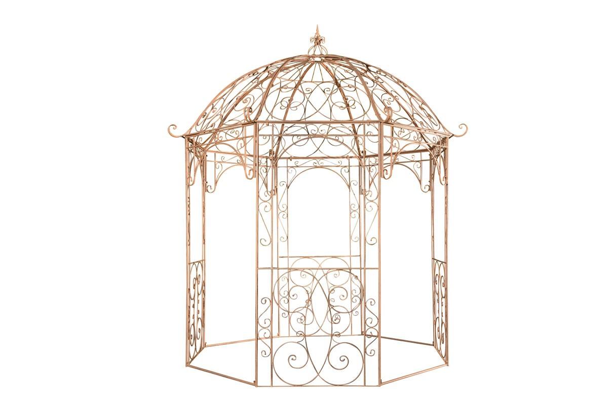 Arche à rosiers ronde avec pavillon Leila