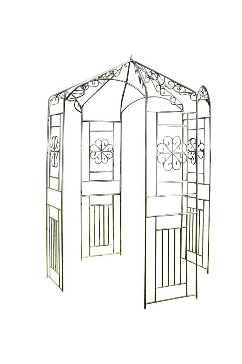 Pavillon arche à rosiers en fer