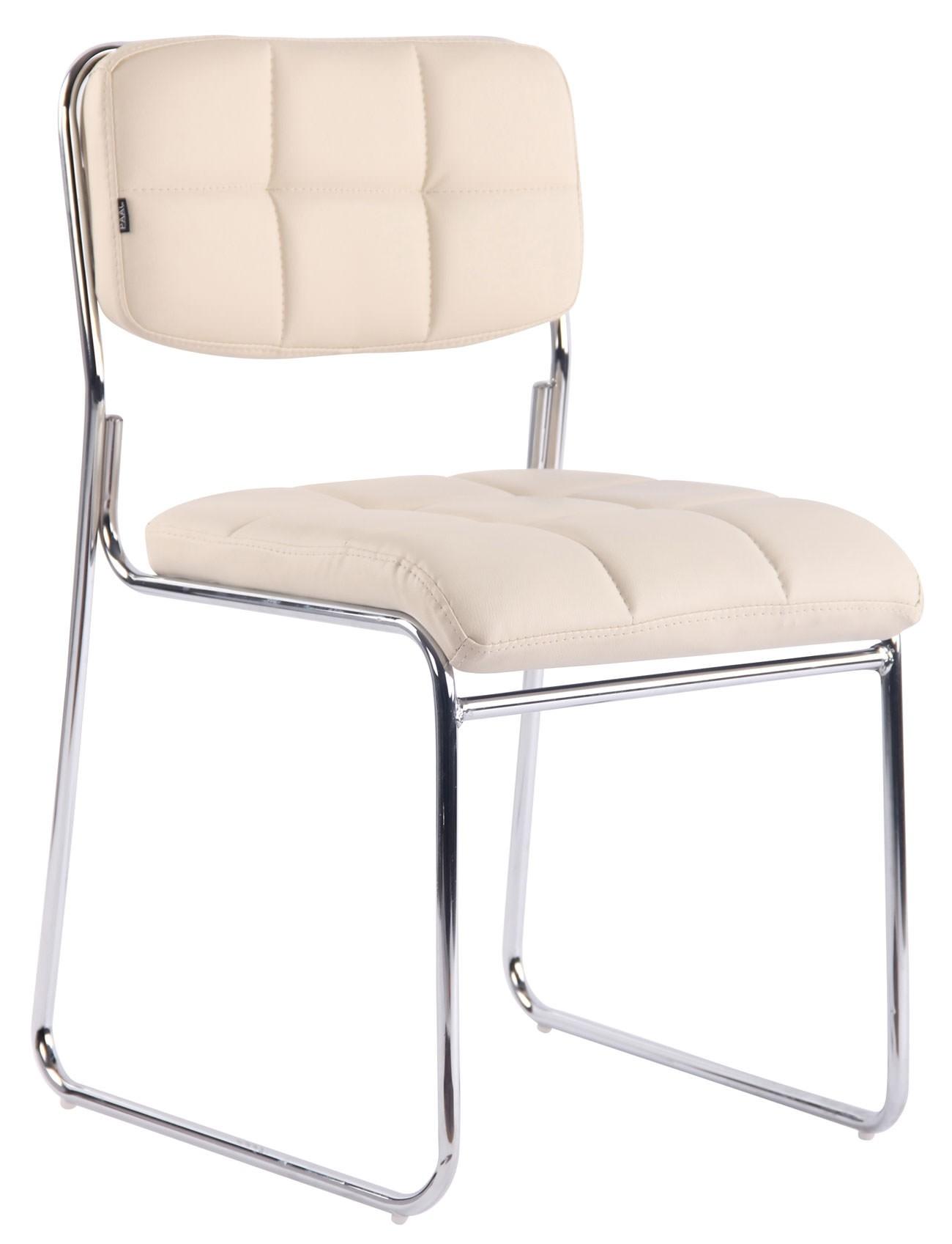 Chaise de visiteur Gera similicuir