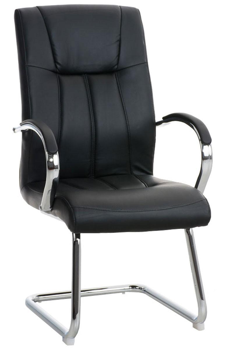 Chaise de visiteur Basel similicuir