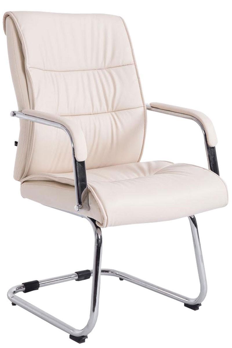 Chaise oscillante Sievert en similicuir