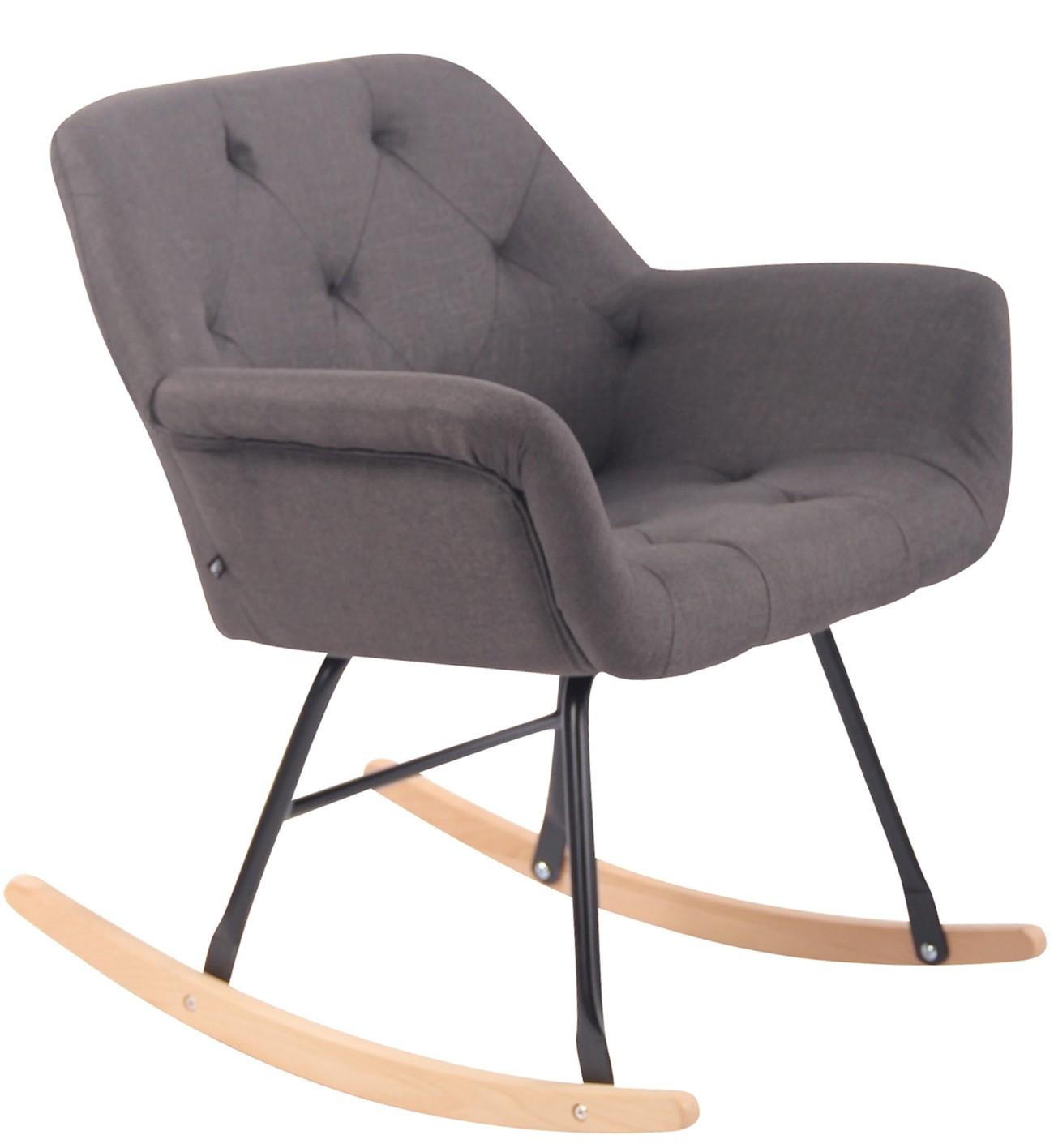 Chaise à bascule Cabot tissu