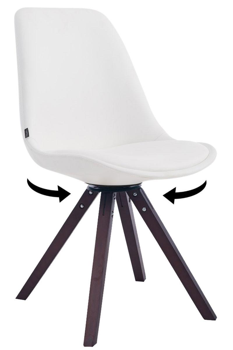 Chaise Calais pivotante pieds carrés