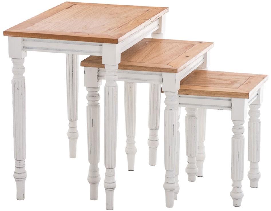 Set de 3 tables d'appoint Tabea